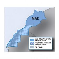 Carte Maroc HERE 2017