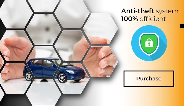 Anti-theft gps system